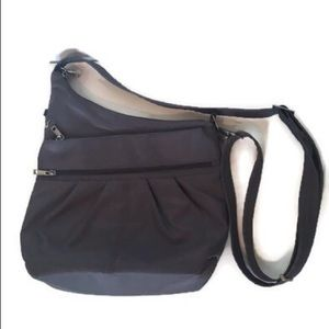 Travelon pewter Anti-Theft RFID crossbody bag